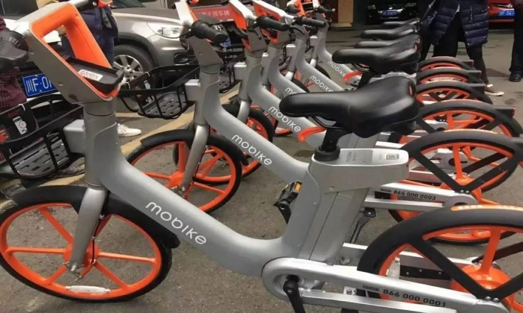 摩拜共享电单车